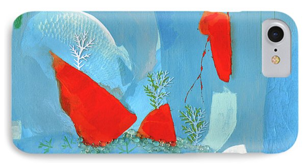 Winter Thunder IPhone Case by Donna Blackhall