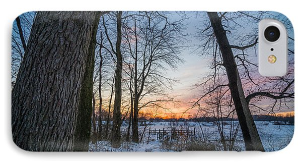 Winter Trails IPhone Case