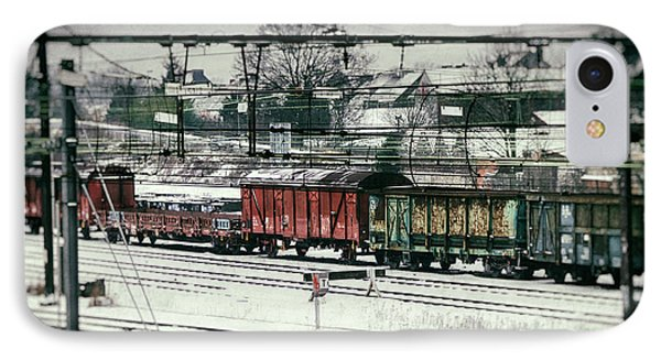 Winter Transport Phone Case by Wim Lanclus