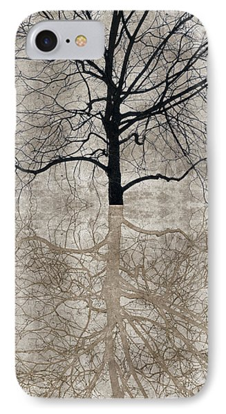 IPhone Case featuring the photograph Winter Tree by Carol Leigh