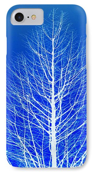 Winter Tree IPhone Case by Donna Bentley