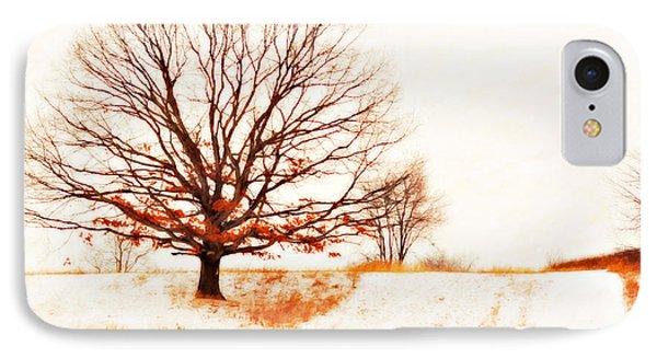 Winter Tree Phone Case by Randy Steele