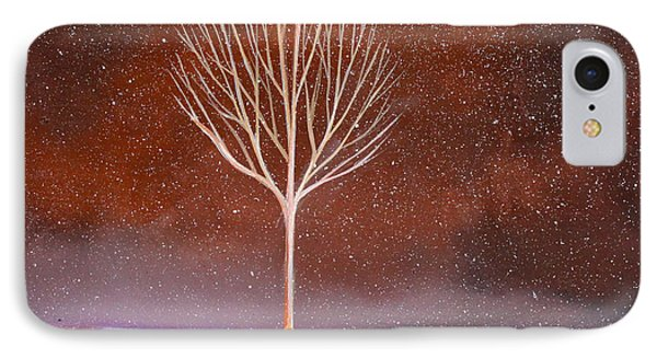 Winter Tree Phone Case by Toni Grote