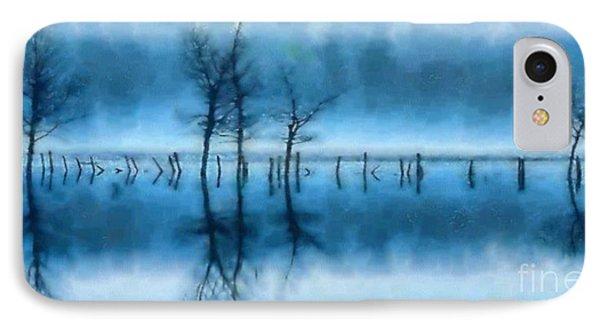 Winter Trees IPhone Case by Elizabeth Coats