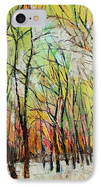 Winter Trees IPhone Case by Michael Creese