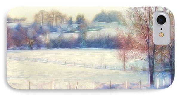 Winter Village IPhone Case by Jutta Maria Pusl