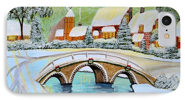 Winter Village IPhone Case by Magdalena Frohnsdorff