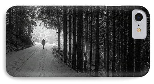 Winter Walk - Austria IPhone 7 Case by Mountain Dreams