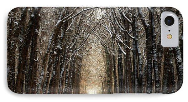 Winter Walk II IPhone Case