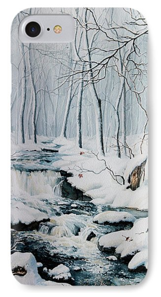Winter Whispers Phone Case by Hanne Lore Koehler