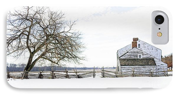 Winter White Out IPhone Case by Debra Fedchin