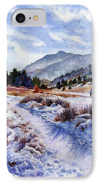 Rocky Mountain iPhone 7 Case - Winter Wonderland by Anne Gifford