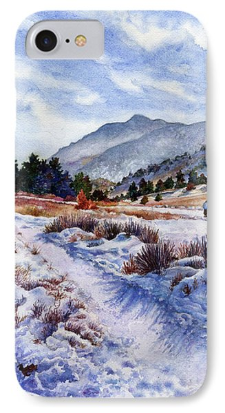 Winter Wonderland IPhone Case by Anne Gifford
