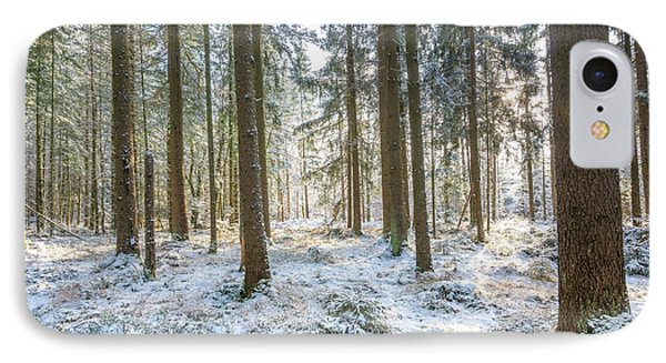 IPhone Case featuring the photograph Winter Wonderland by Hannes Cmarits