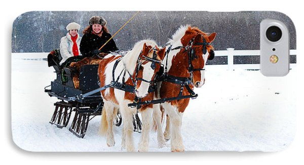 Winter Wonderland IPhone Case by James Kirkikis