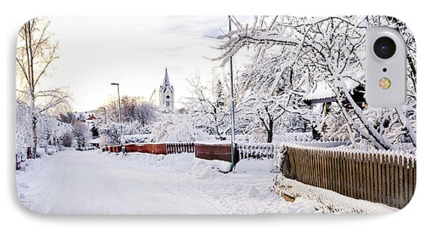 Winter Wonderland IPhone Case by Marius Sipa