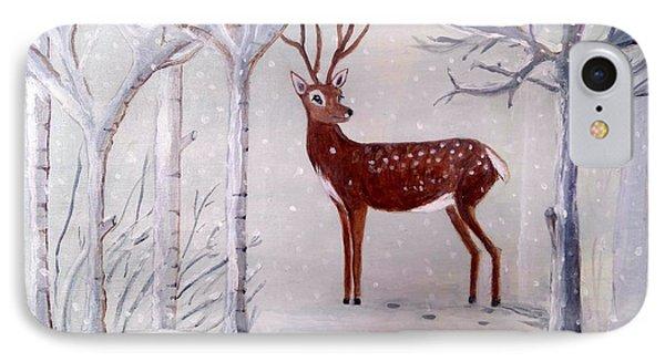 Winter Wonderland - Painting IPhone Case