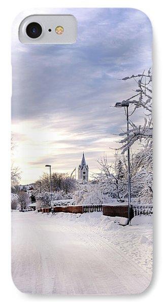 Winter Wonderland Redux IPhone Case by Marius Sipa