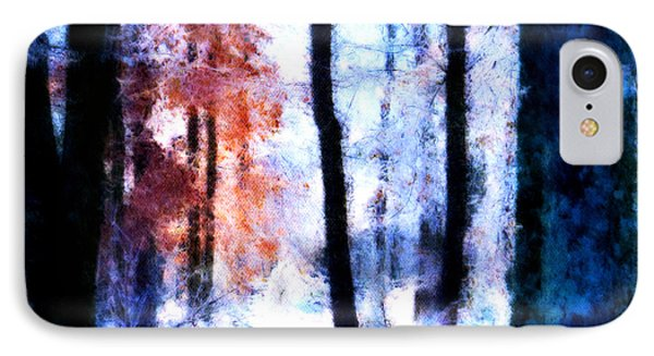 Winter Woods IPhone Case by Craig Walters