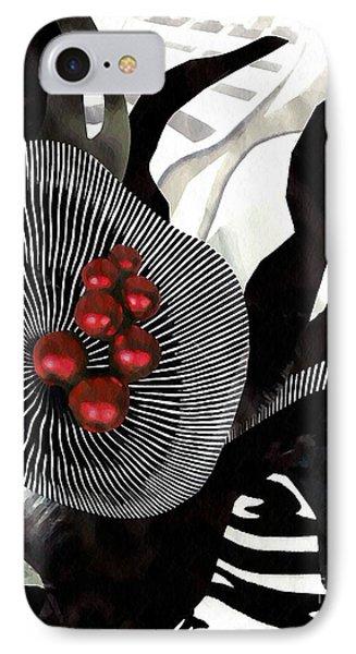 Winterberries Phone Case by Sarah Loft