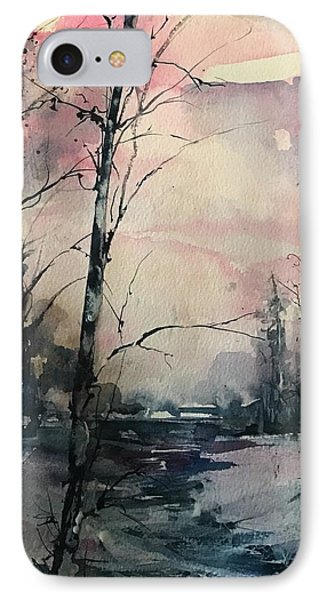 Winter's Blush IPhone Case by Robin Miller-Bookhout
