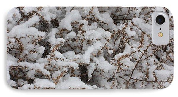 Winter's Contrast Phone Case by Carol Groenen