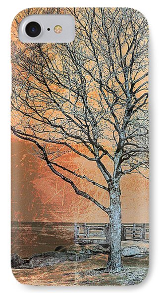 Winter's Dawn Phone Case by Shawna Rowe