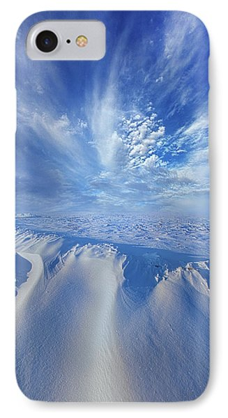 IPhone Case featuring the photograph Winter's Hue by Phil Koch