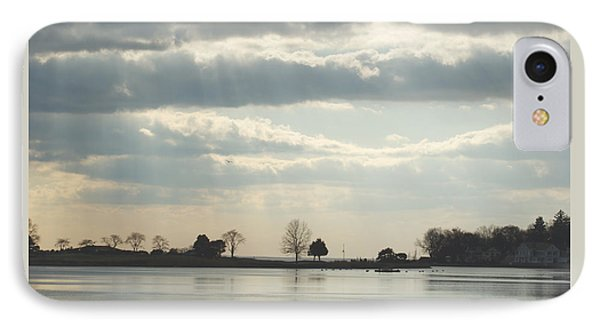 IPhone Case featuring the photograph Winter's Light At South Harbor by Margie Avellino