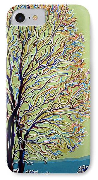 Wintertainment Tree IPhone Case by Amy Ferrari