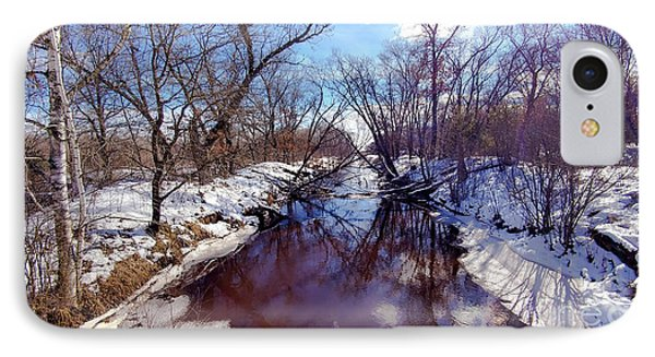 Wintertime In Necedah  Phone Case by Ricky L Jones