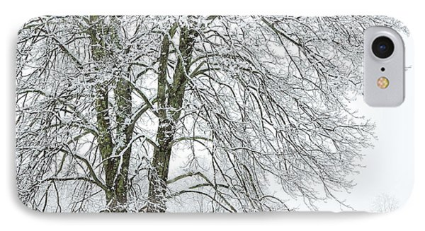 Wintertime In West Virginia Phone Case by Thomas R Fletcher
