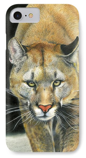 Wintertime Prowler IPhone Case