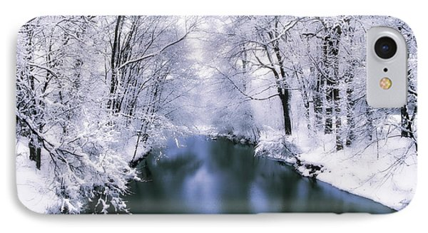 Wintry White IPhone Case