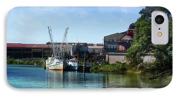 Winyah Bay Georgetown Sc IPhone Case