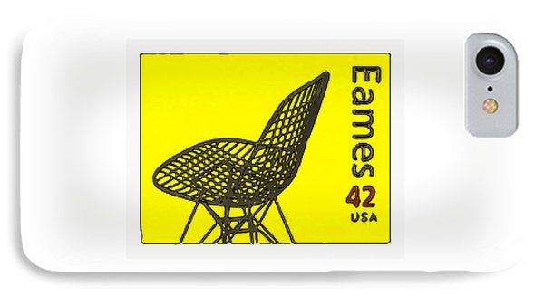 Wire Mesh Chair IPhone Case by Lanjee Chee