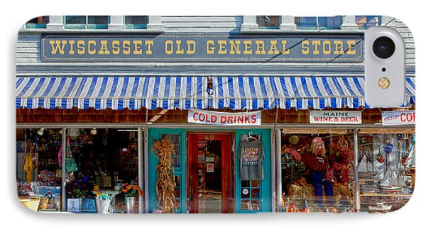 Wiscasset General IPhone Case by Susan Cole Kelly
