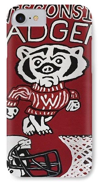 Wisconsin Badgers IPhone Case