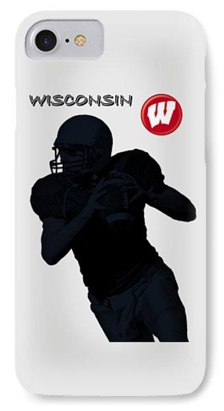 Wisconsin Football Phone Case by David Dehner