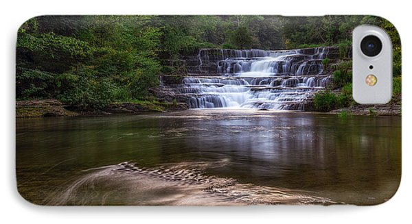 IPhone Case featuring the photograph Wiscoy Falls by Mark Papke