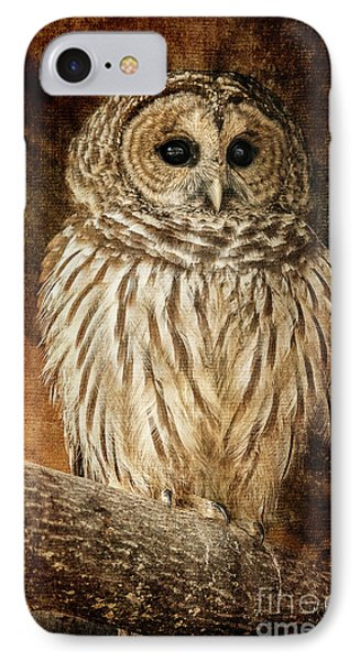 Wisdom IPhone Case by Lois Bryan