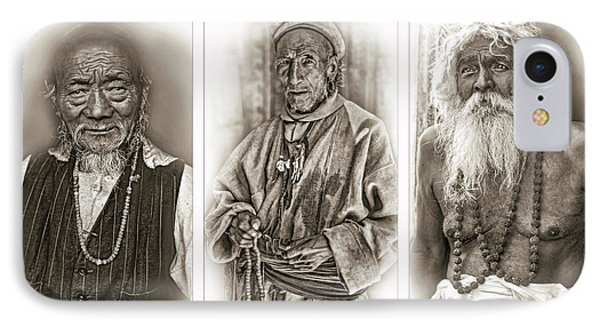 Wisdom - Such A Long Journey - Sepia IPhone Case