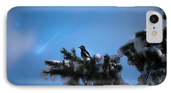 Wish Upon A Shooting Star IPhone Case by Rose-Marie Karlsen