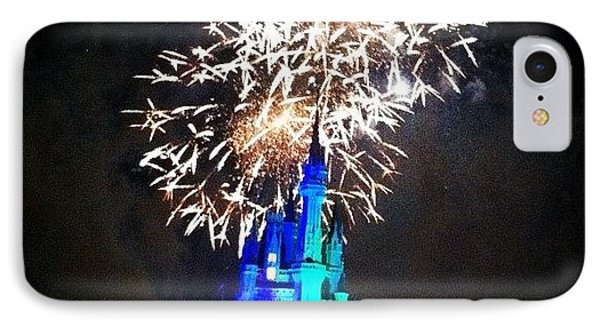 Wishes Fireworks Show IPhone Case