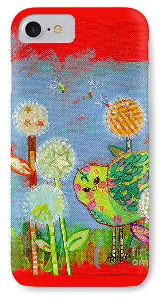 Wishful Thinking Birdy IPhone Case by Shelley Overton
