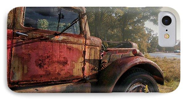 Truck iPhone 7 Case - Wishful Thinking by Jerry LoFaro