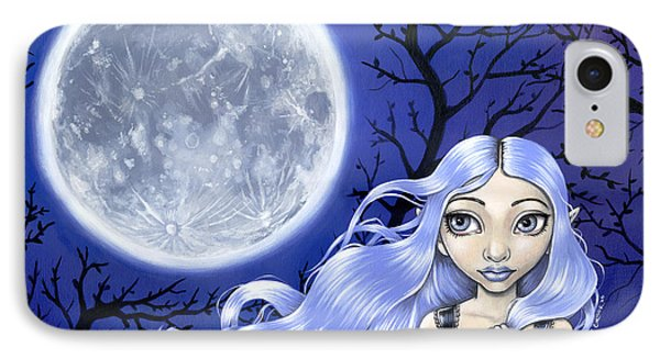 Wishing On The Moon Phone Case by Lindsey Cormier
