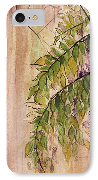 Wisteria  Phone Case by Carrie Jackson