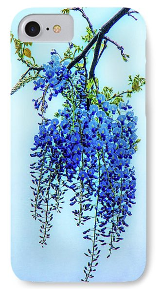 IPhone Case featuring the photograph Wisteria by Chris Lord