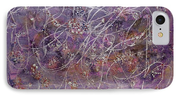 Wisteria Painting  Phone Case by Don  Wright